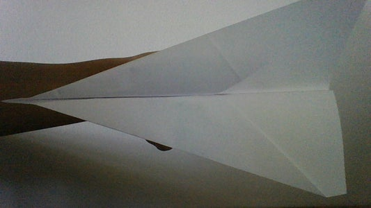 How to Make the Basic Paper Airplane for Beginners