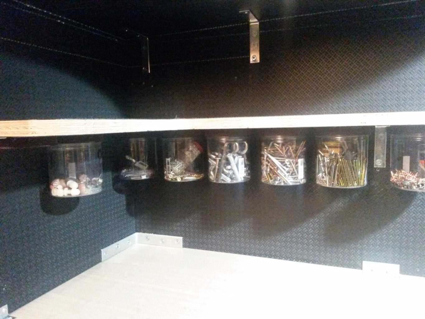 B: Hanging Storage Containers