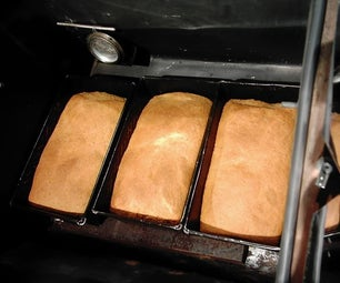 Solar Ground and Baked Whole Wheat Bread.