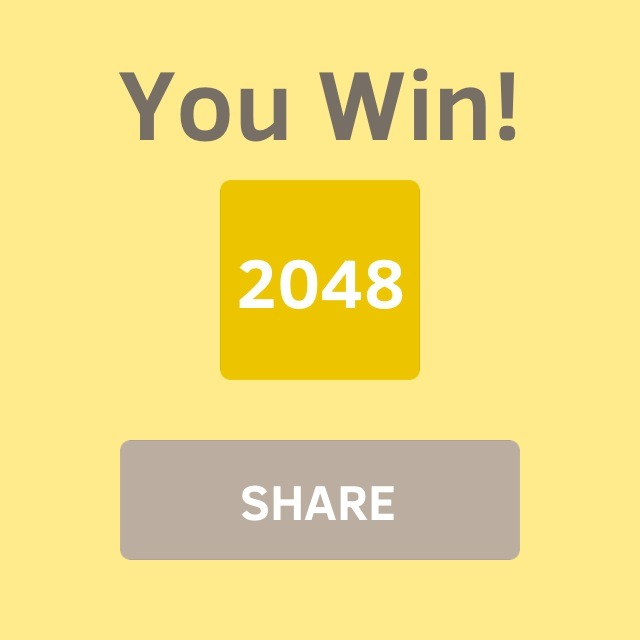 Win 2048 Every Time