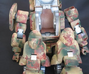 How to Paint a Camoflauge Pattern With Rust Effect