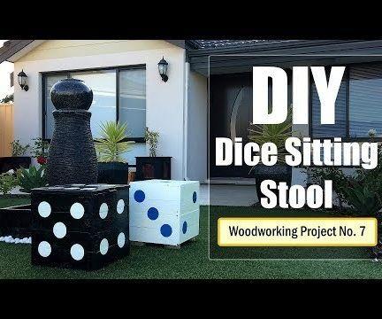 DIY - Dice Sitting Stool