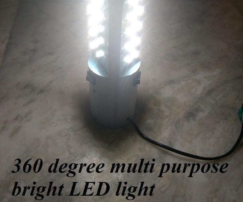 360 Degree Multi Purpose Bright LED Light