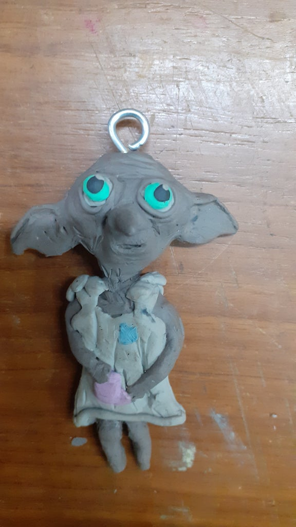 Miniature Clay Dobby! a Project for True Potter Heads