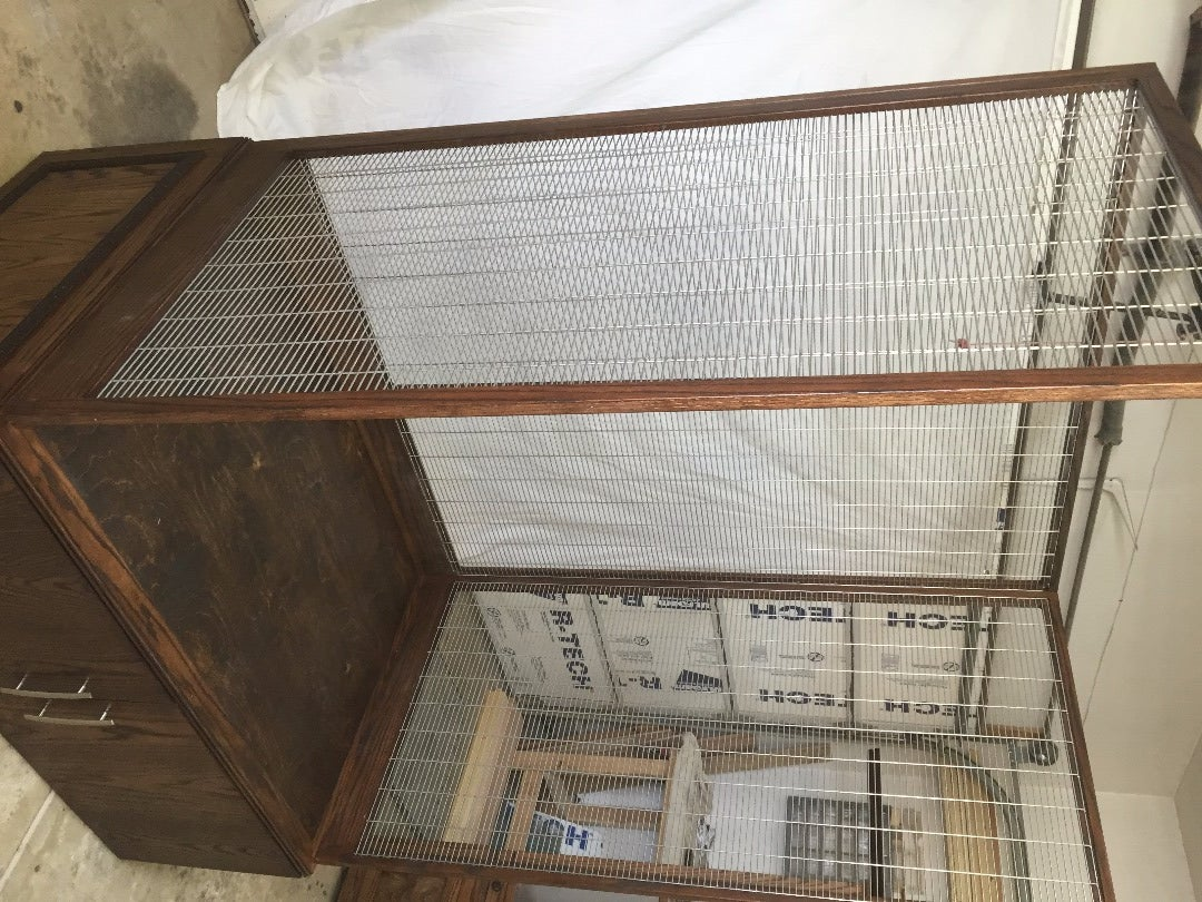Panel D - Left Side of Cage