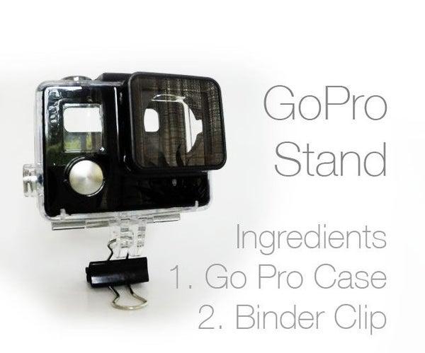 GoPro Stand Binder Clip
