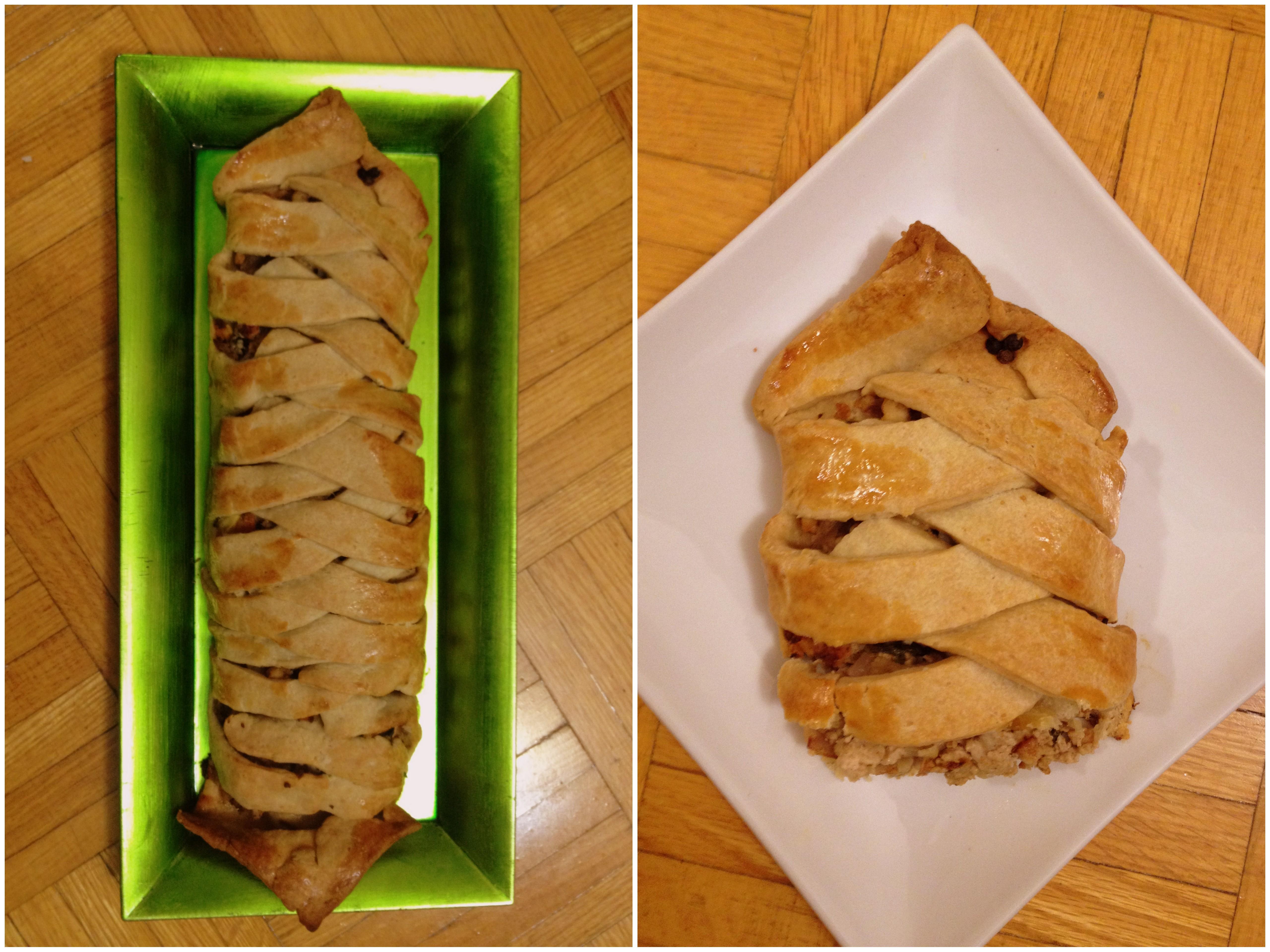 Chicken Braided Pie