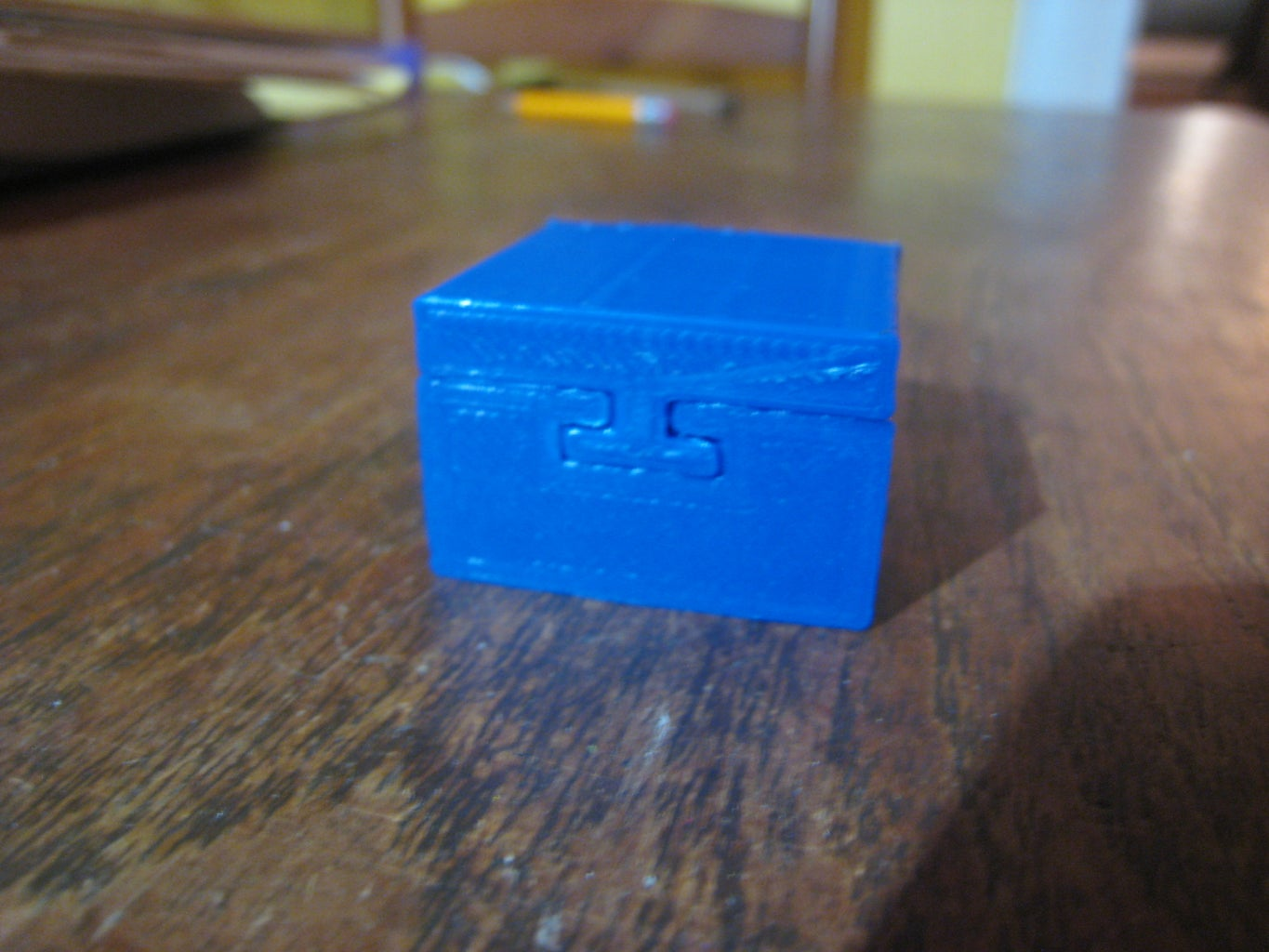 """Printing and Assembly: Trick """"dovetail"""" Box + L2 + Drawer """"hook"""""""