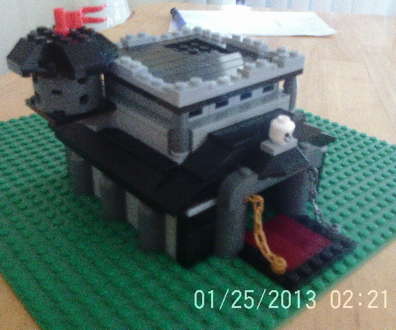 lego clash of clans lv9 town hall!