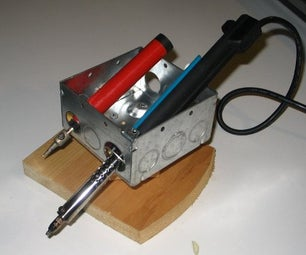 Build a Cheap Soldering Iron Holder