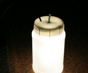 DIY Cheap Waterproof LED Lamp