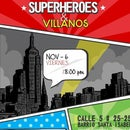 HEROES AND VILLAINS PARTY