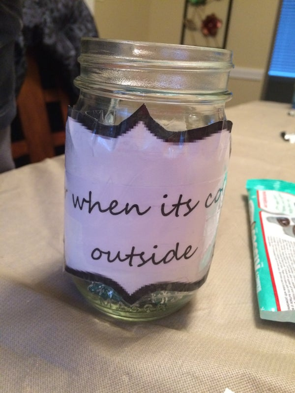 Candy Jar for the Holidays