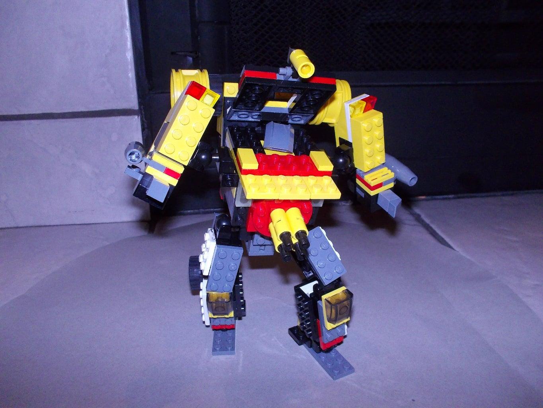 Lego Transformers: Demolisher?