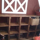 Modular Wood Crate Playroom Storage