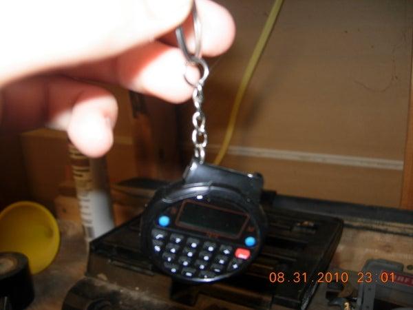 (Calculator) Watch Keychain