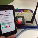 Remote Controlled LED using Mobile Phone and Internet