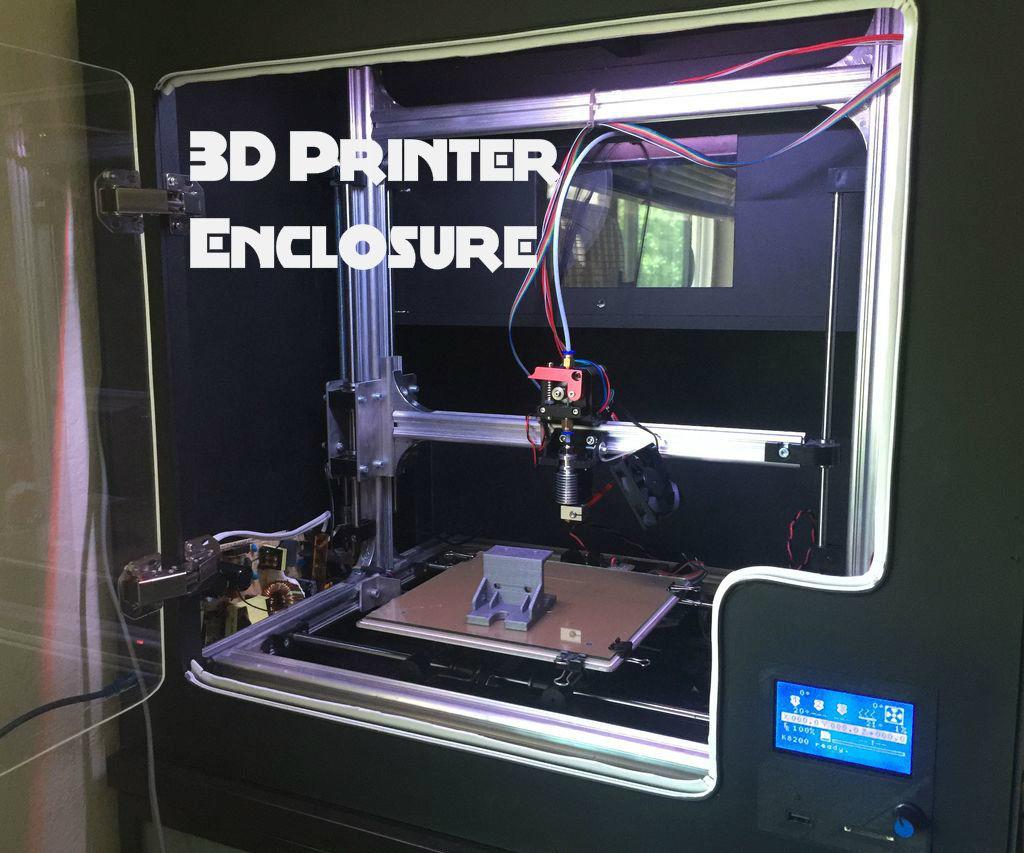 DIY 3D Printer Enclosure