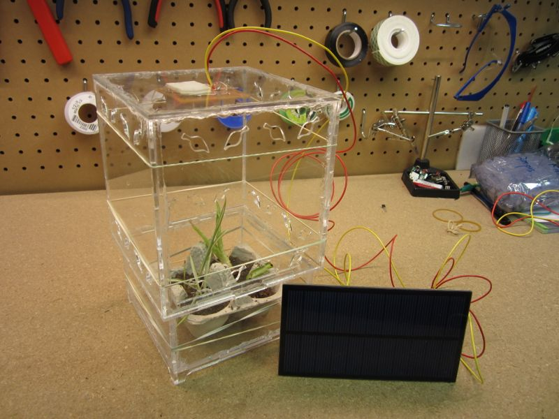 Solar Powered 24 Hour Greenhouse