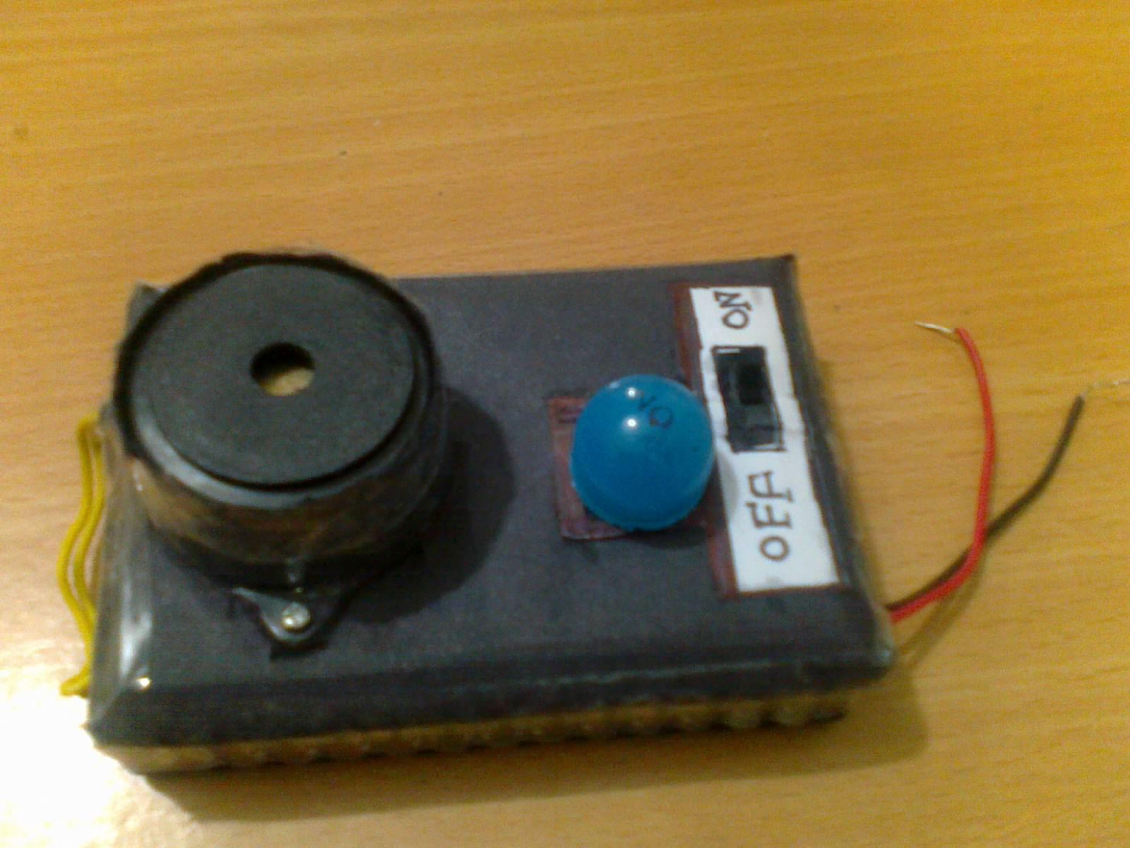Simple IC-555 Sound generator