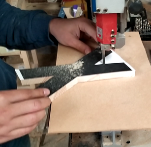 Cutting the Letters