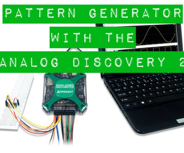 Using the Pattern Generator With the Analog Discovery 2