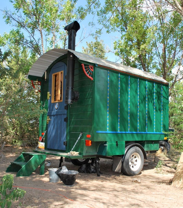 Building a Gypsy Wagon