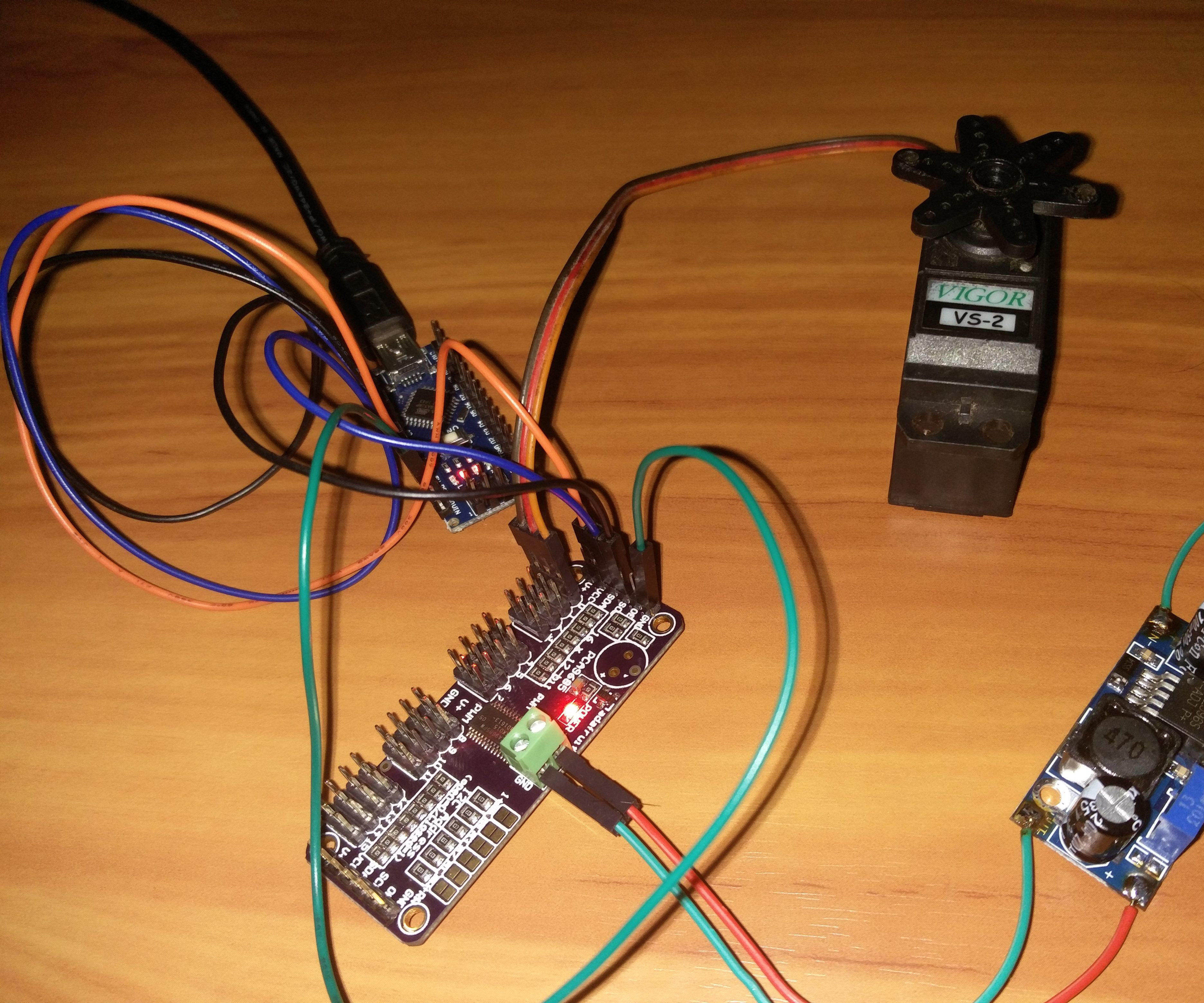 Easily Control Servo Motor using Arduino and PCA9685 16 Channel PWM Module
