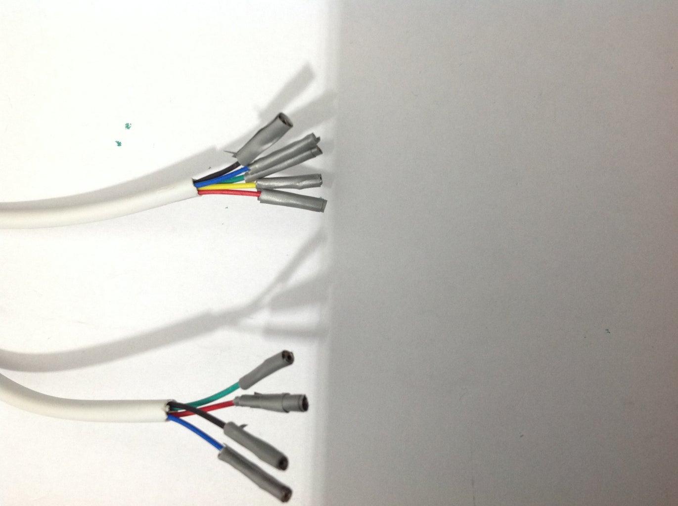 Control Panel Cables Preparation