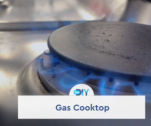 Status of a Gas Cooktop Inside Home Assistant
