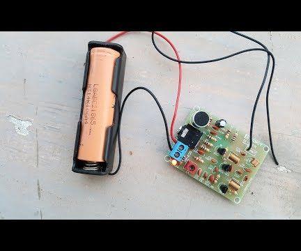 FM Transmitter Kit RF 02 - Spybug FM Transmitter