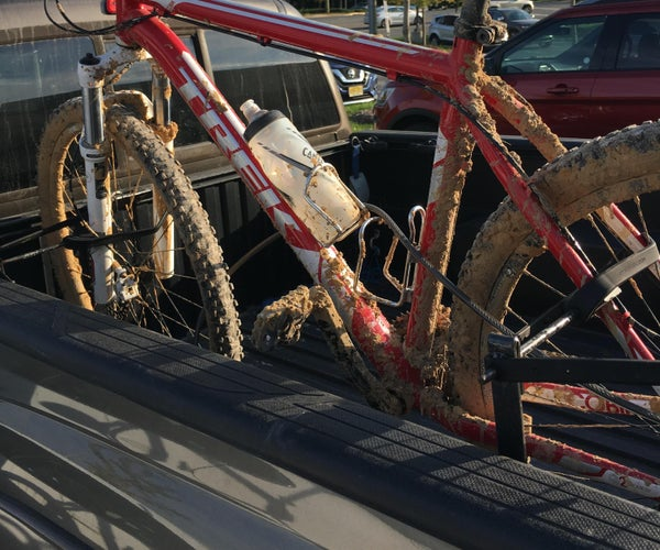 Nearly FREE Mountain Bike Truckrack