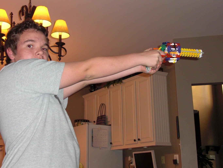 My First Gun!