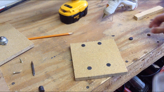 Drilling Magnet Holes