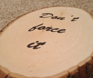 Personalized Wooden Plaque