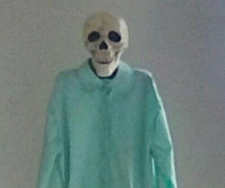 Creepy Stand-up Skeleton Prop