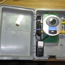 $4 dollars Outdoor enclosure for a Linksys WVC54GC wireless IP surveillance camera