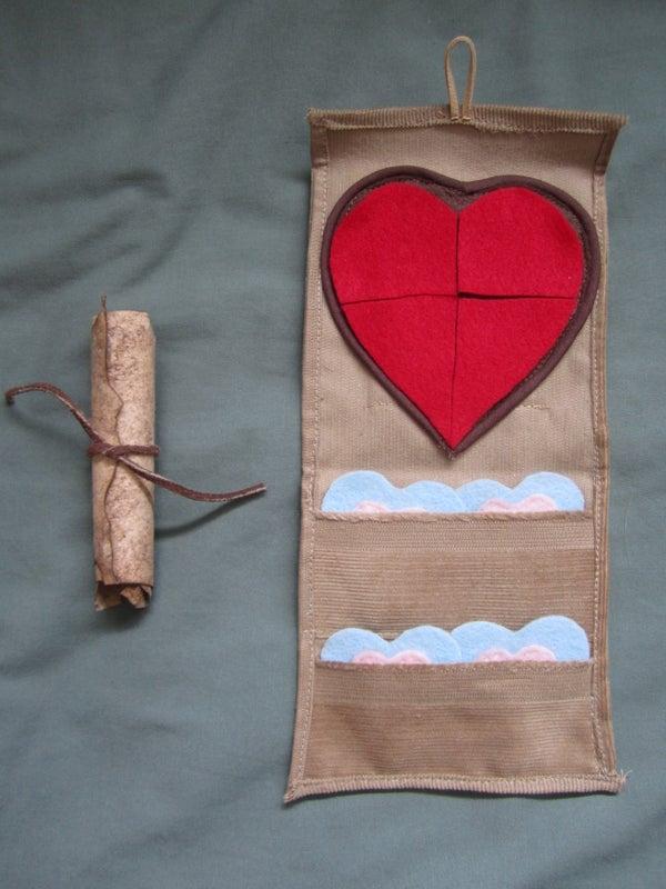 Zelda Heart Container Valentine