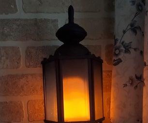 LED Flicker Bulb Lantern