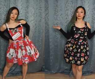 How to Make Pinafore Dress