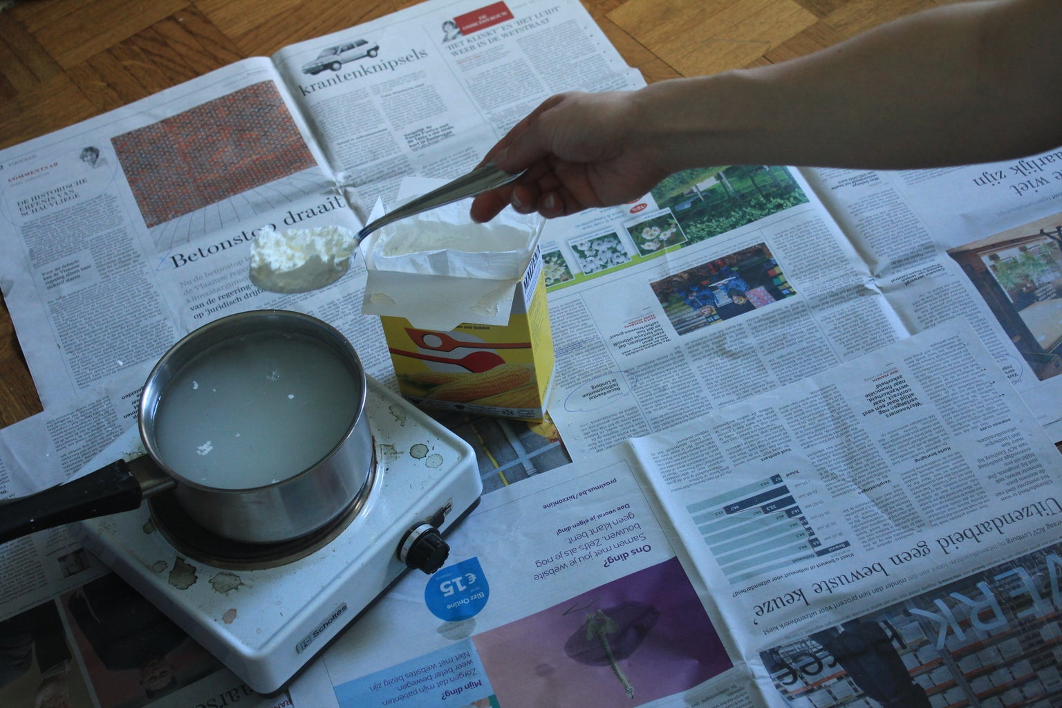 Making the Paperpulp
