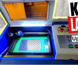 Laser CO2 K40 40W Controller Upgrade for Lightburn