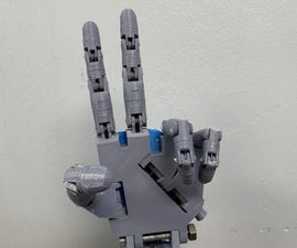 ASL Robotic Hand (Left)