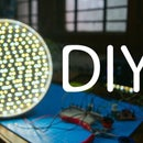DIY LED Video Panel    Dimmable and Color Temperature adjust