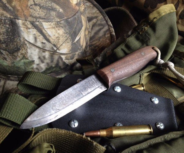 How to Make a Bushcraft Knife
