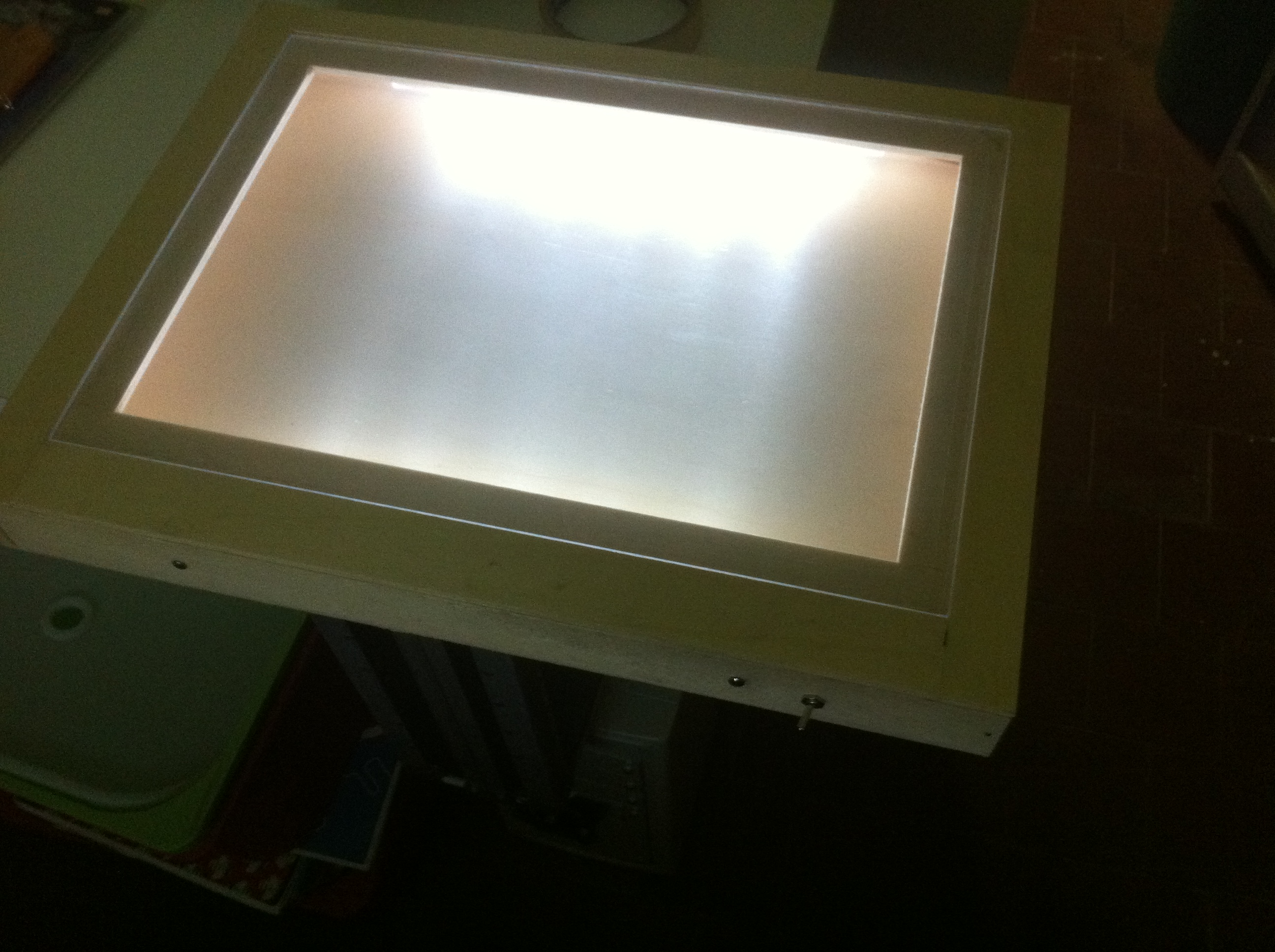 Portable Drawing Light Table