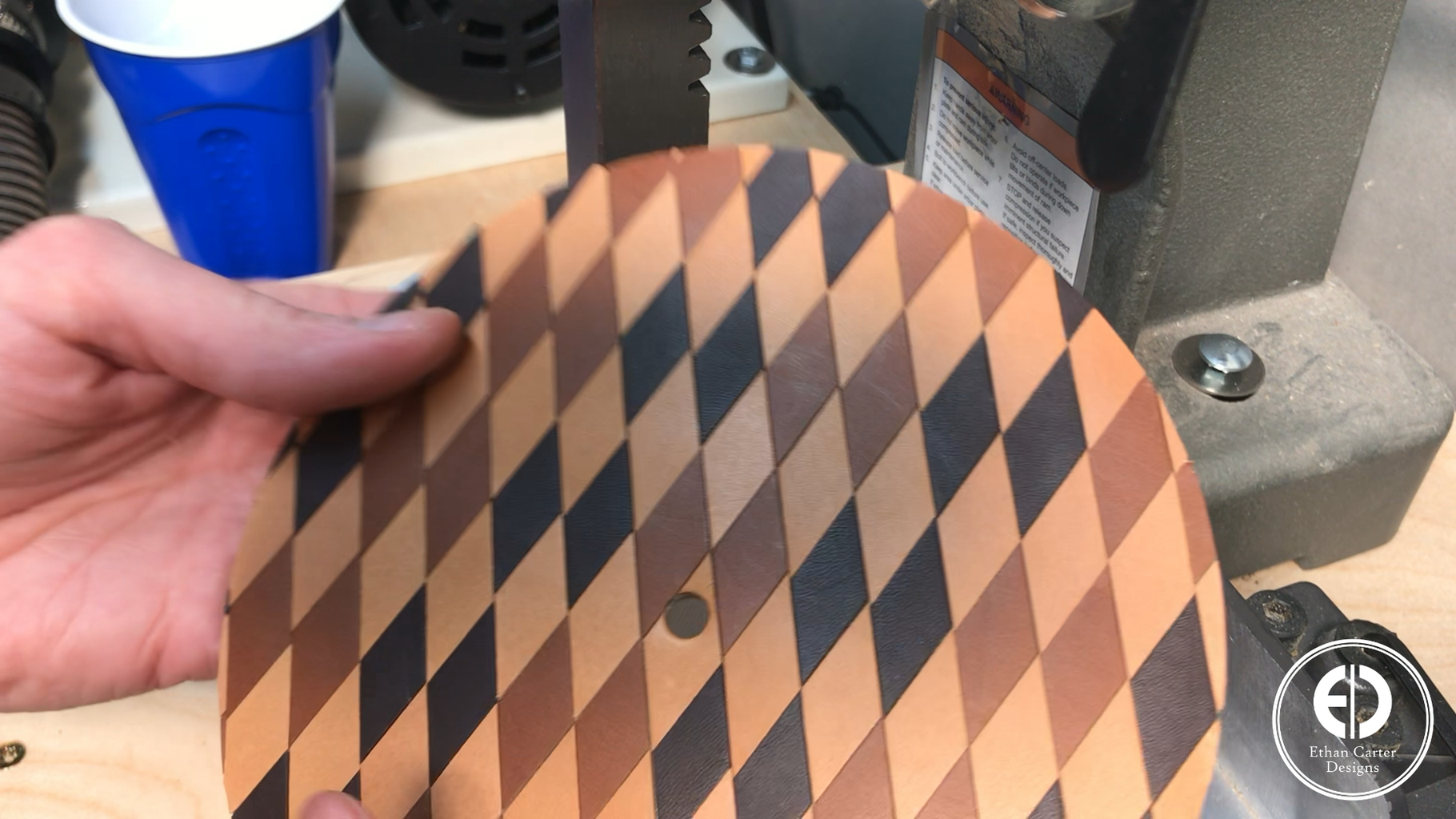 Making the Clock Backing
