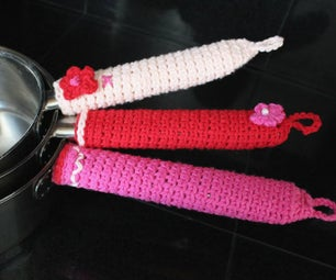 Crochet Pot Handle Cozy