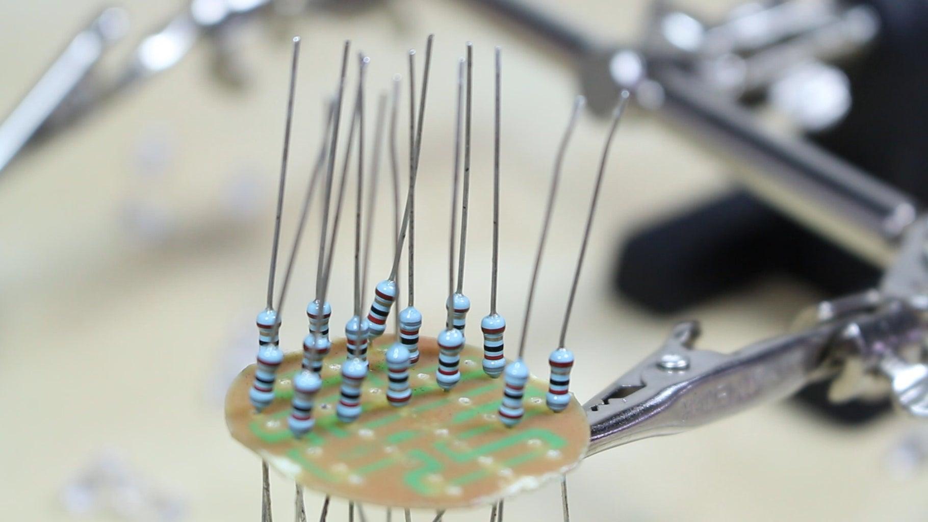 Adding the Resistors