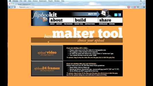 Using the Maker Tool